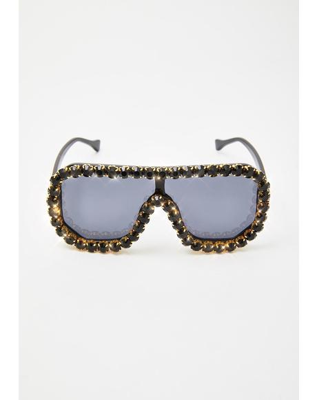 Locked N' Loaded Aviator Sunglasses