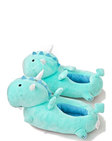 Dragon BB Light-Up Slippers