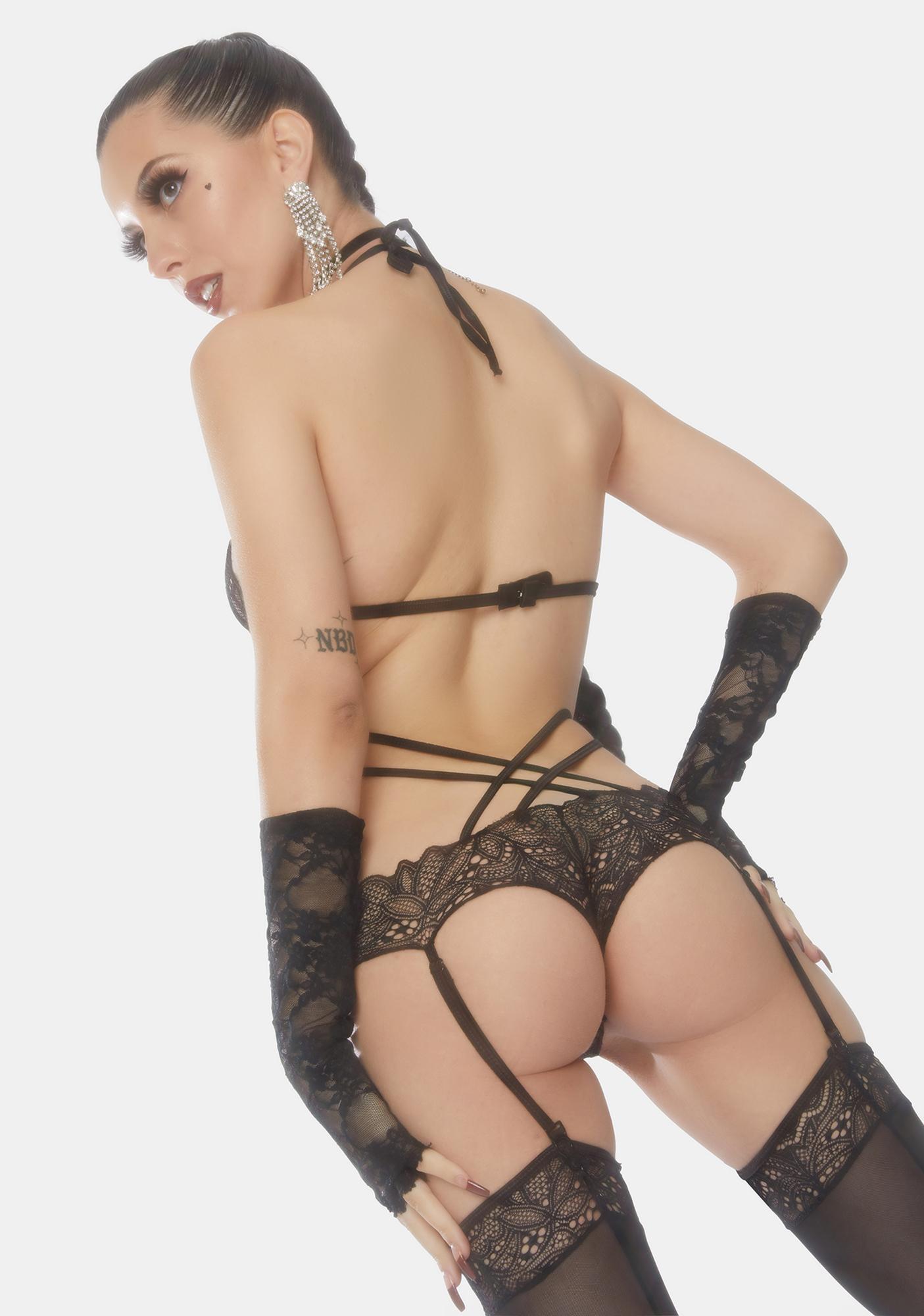 Marylin's Secret Lace Teddy Set