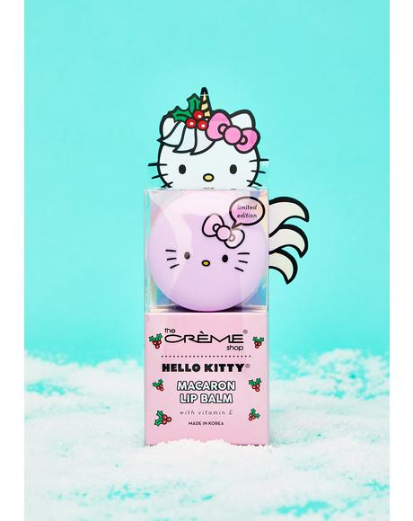 Hello Kitty Icing On The Cake Macaron Lip Balm
