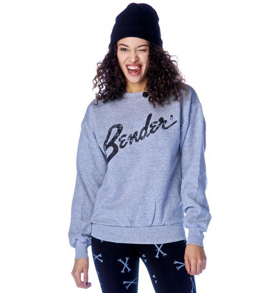 Petals and Peacocks Bender Sweatshirt