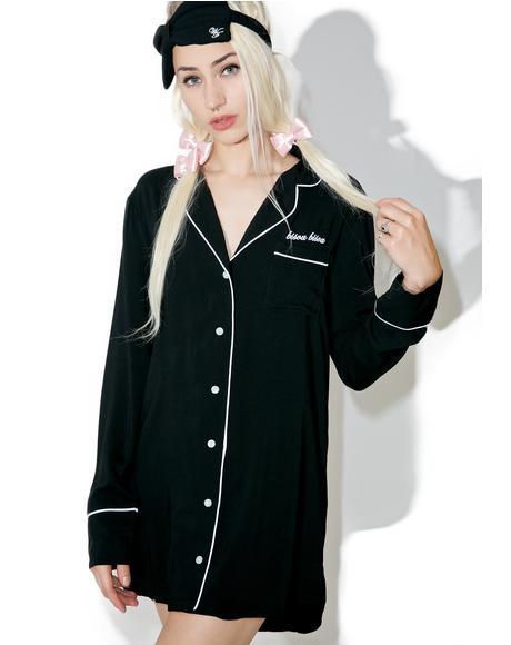 Bisou Bisou Dreamer Sleep Shirt