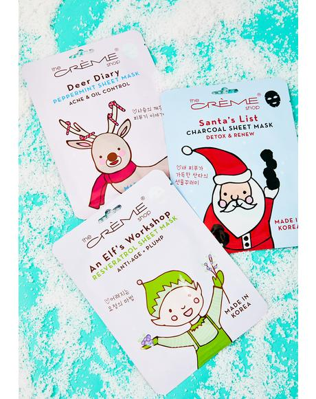 Santa's List Sheet Mask