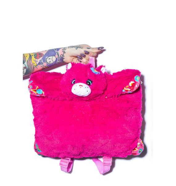 Pillow Pets Flower Power Cat Backpack