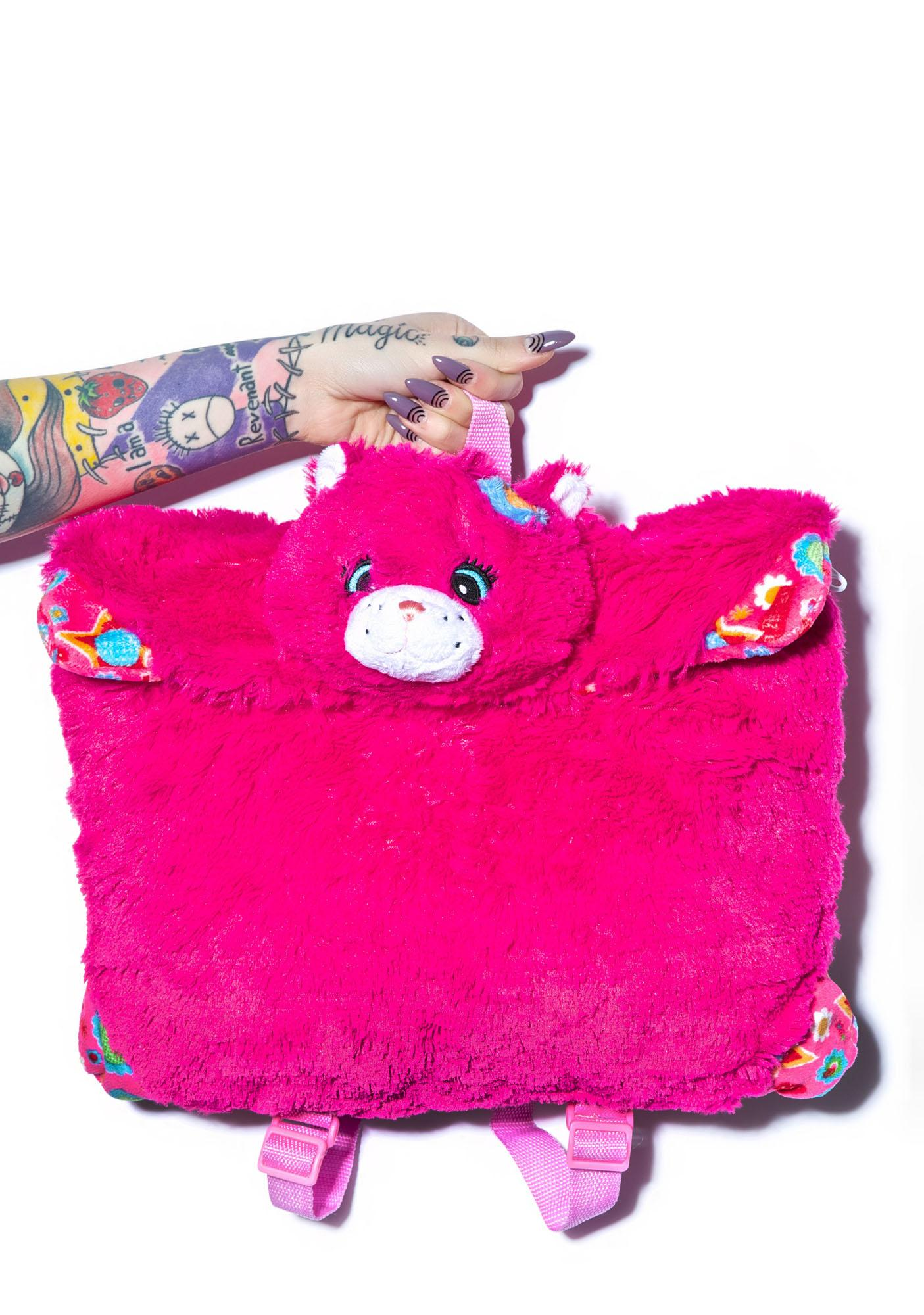 Pillow Pets Flower Power Cat Backpack
