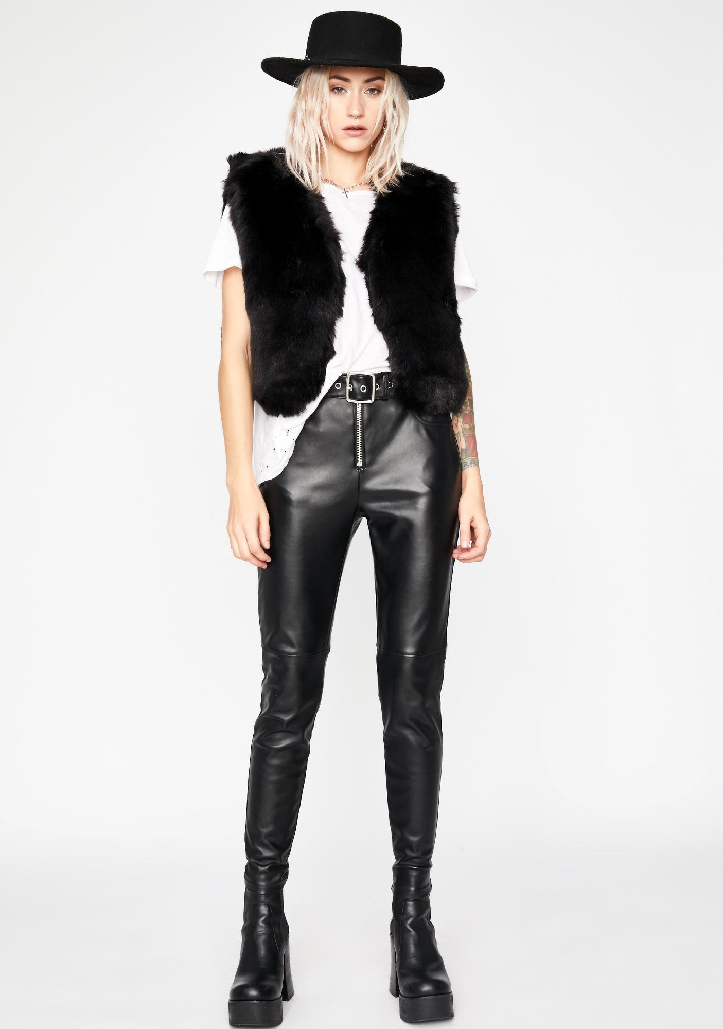 Wild Gal Faux Fur Vest