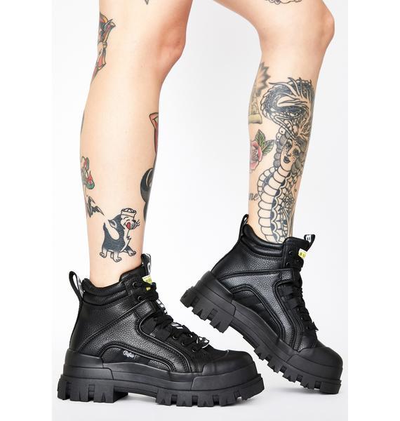 Buffalo Black Panthera Mid Boots