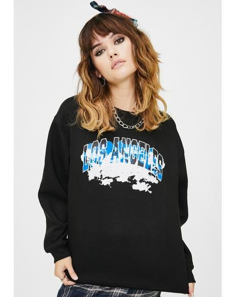 Los Angeles Graphic Pullover