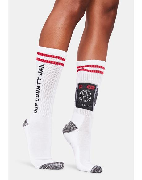 House Arrest Crew Socks