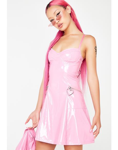 Mad Sass Patent Dress