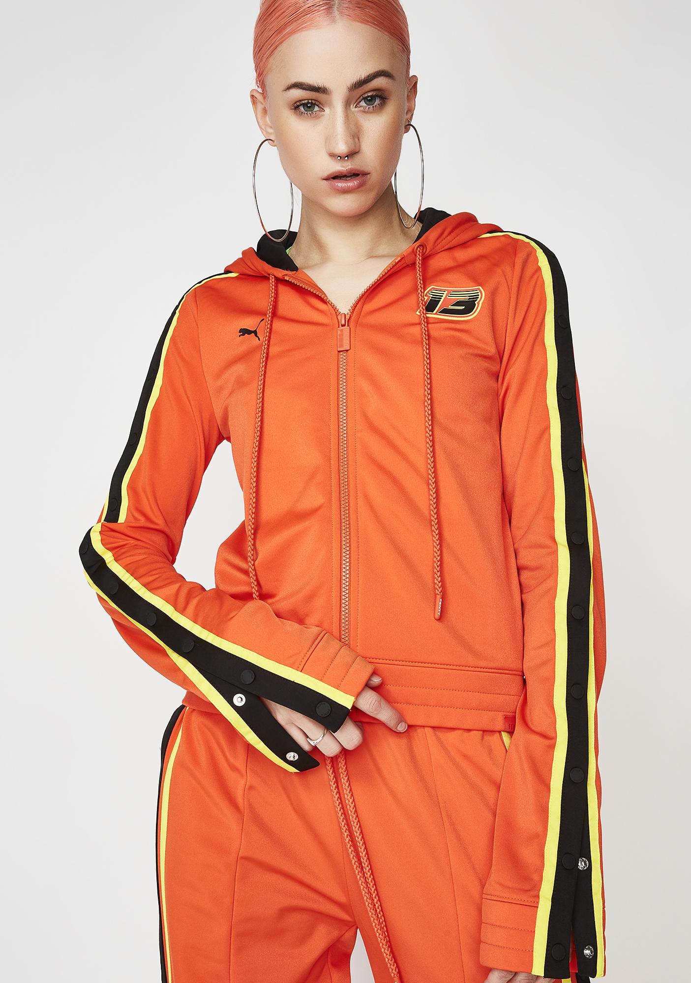 0f85353519a4 PUMA FENTY PUMA By Rihanna Fitted Tearaway Track Jacket