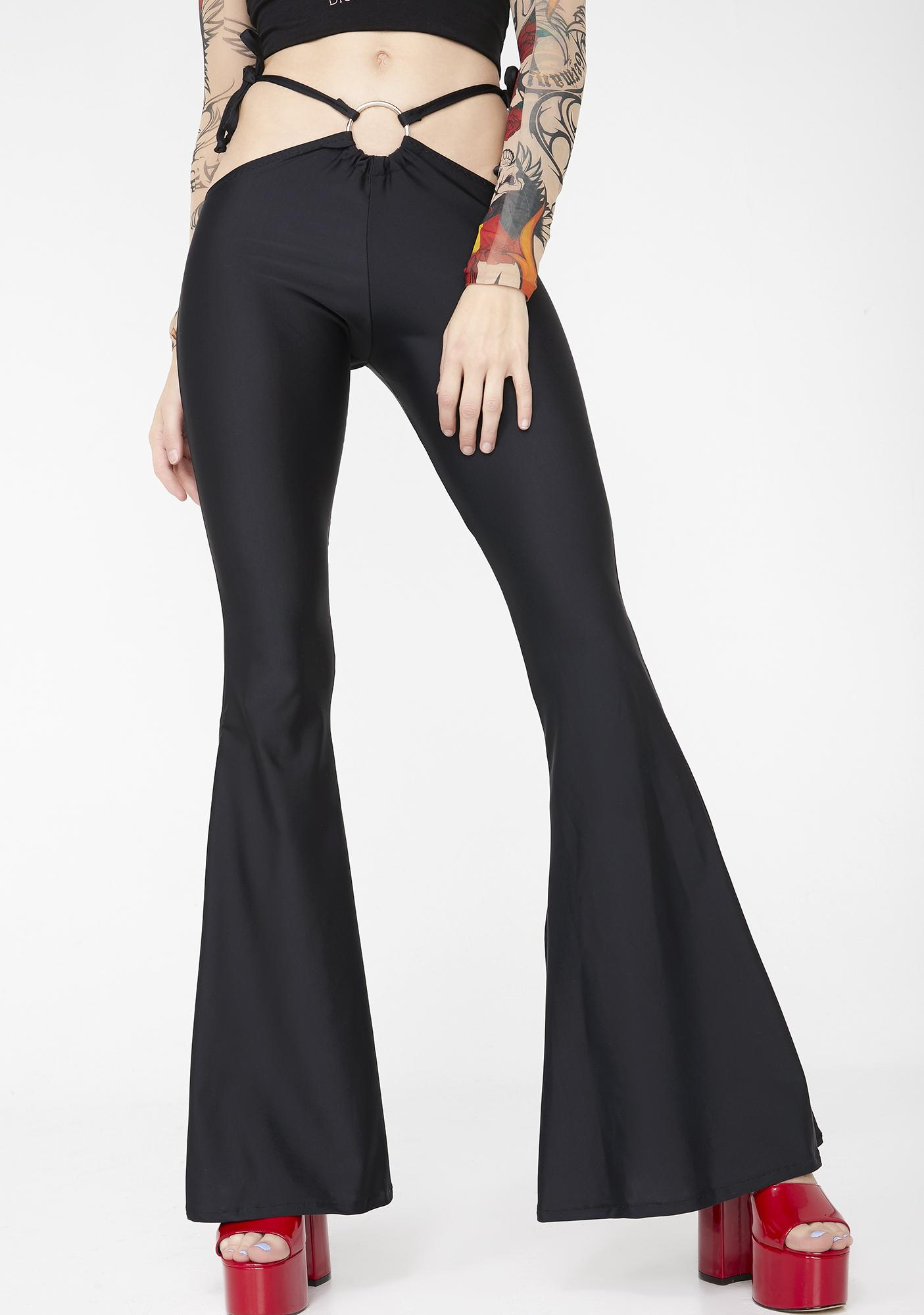 Babydol Clothing Black Christina Flares