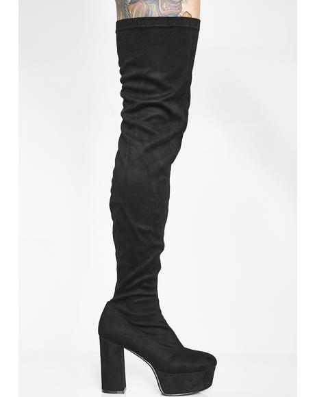 Supplyin' Sass Thigh High Boots