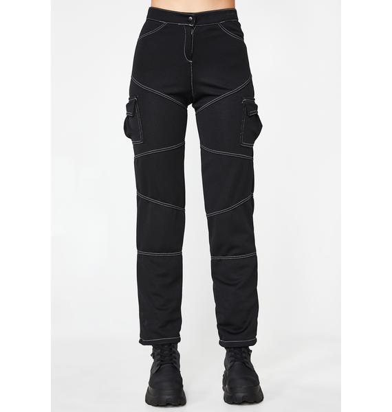Plugged NYC Slit Cargo Pants
