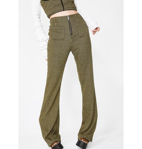Honey Punch Wish List Flared Pants