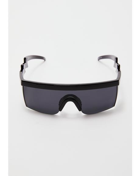 Night Turbo Thot Shield Sunglasses