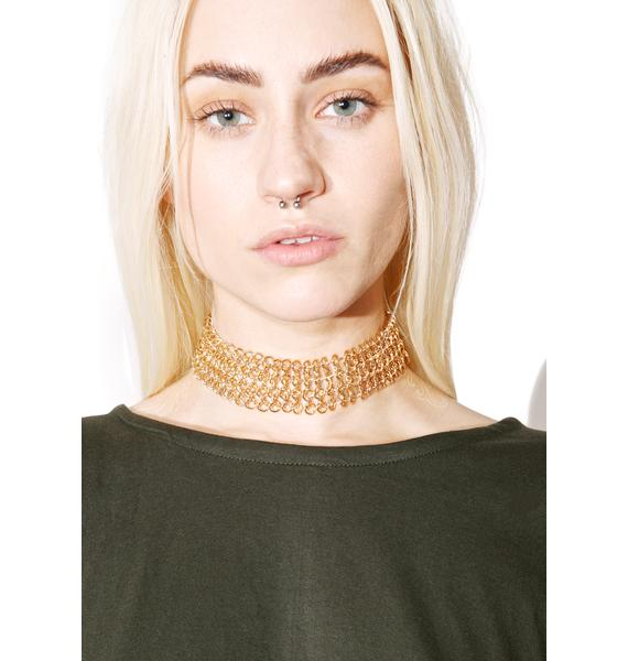 Cut U Off Chain Necklace