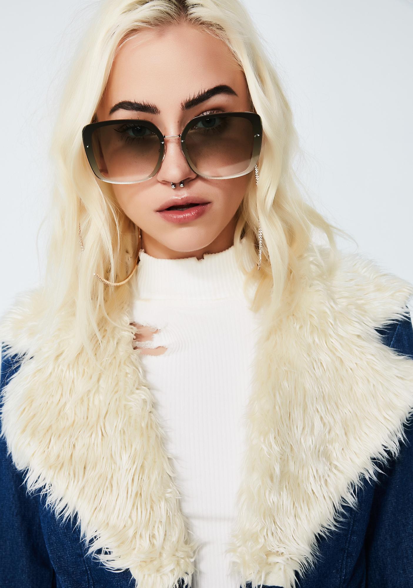 See Ya Never Ombre Sunglasses