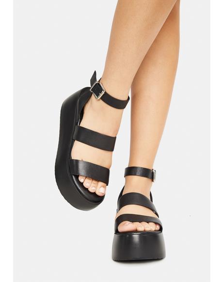 Bay Platform Sandals