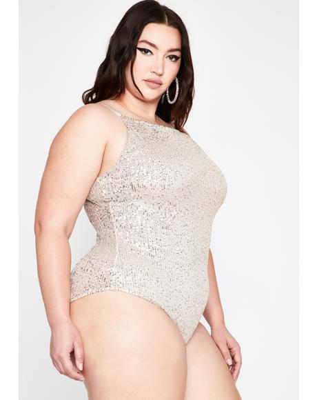 Glam Elite Empire Sequin Bodysuit