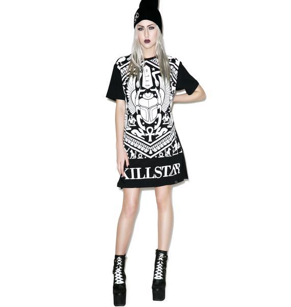 Killstar Scarab Long T-Shirt