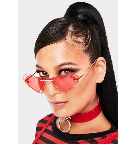 Don't Wait Up Layered Sunglasses