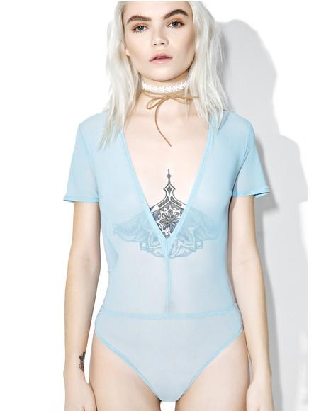 Powder Polly Ann Mesh Bodysuit