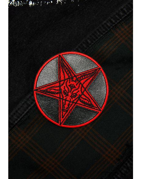 Satanic Circle Patch