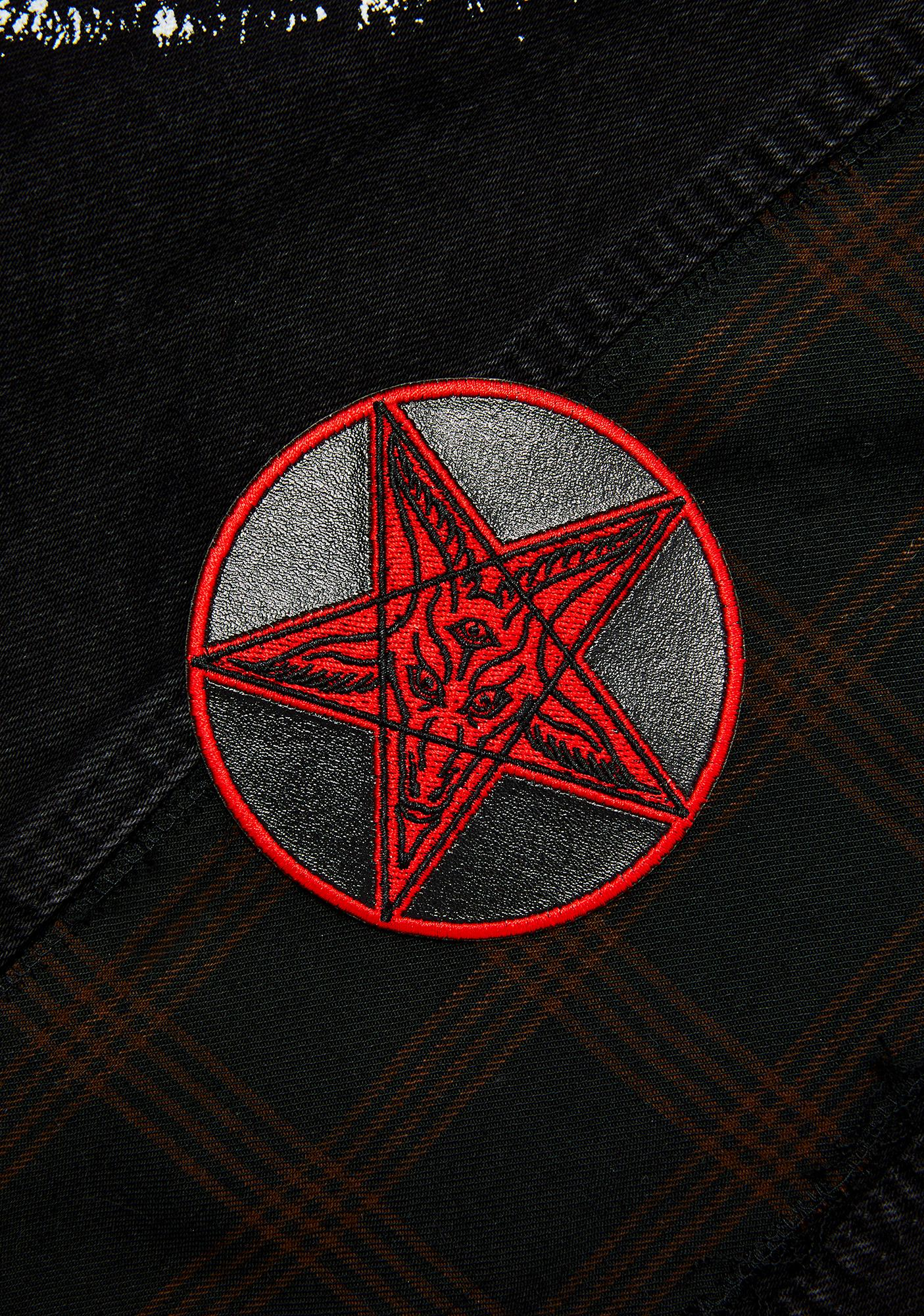 Kreepsville 666 Satanic Circle Patch