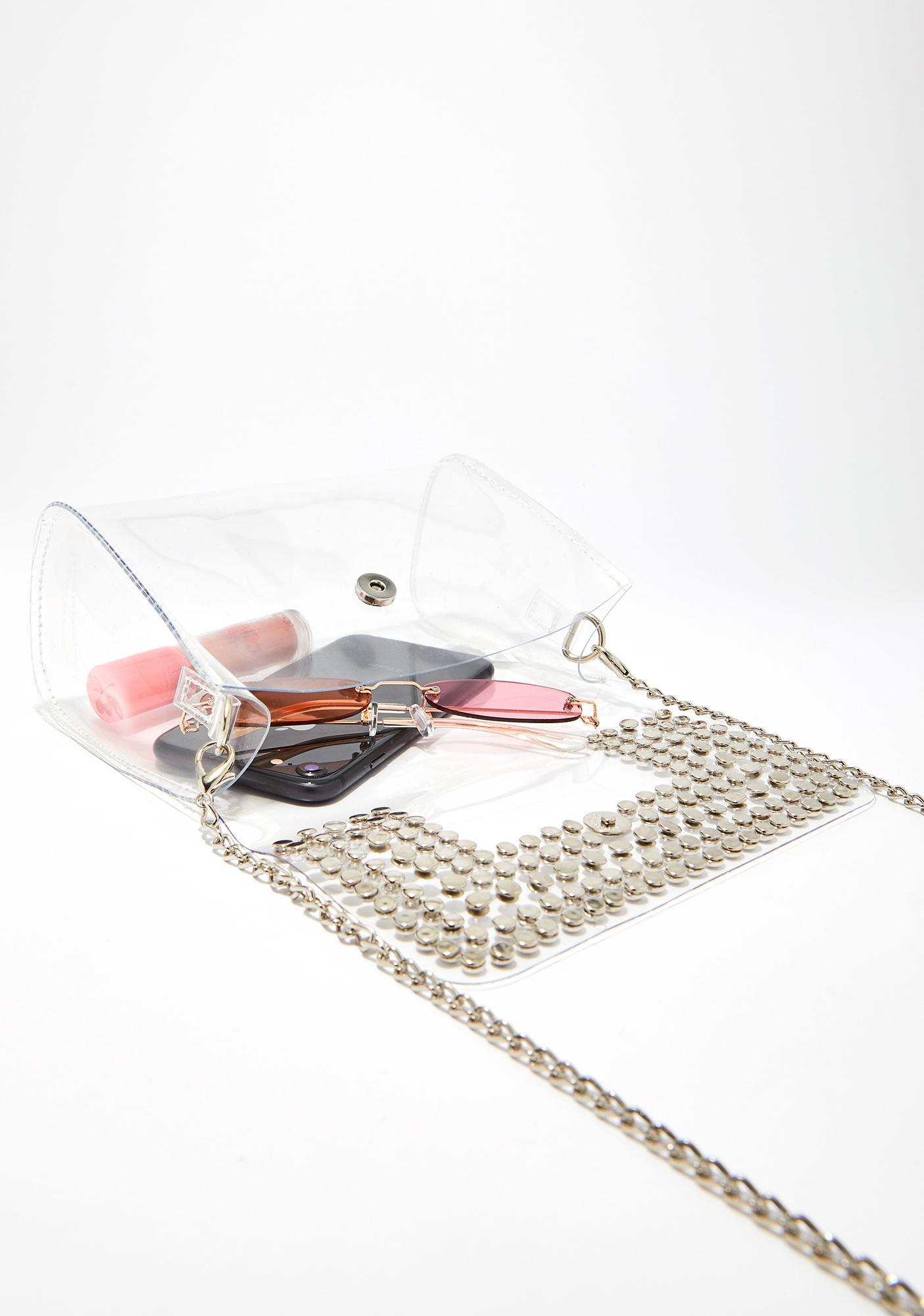 Loud N' Clear Studded Bag