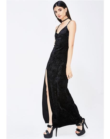 Crushed Desires Maxi Dress