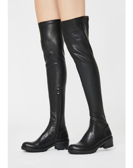 Eureva Over The Knee Boots