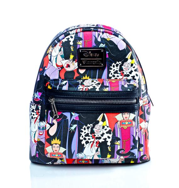 Loungefly X Disney Villains Evil Queens Backpack
