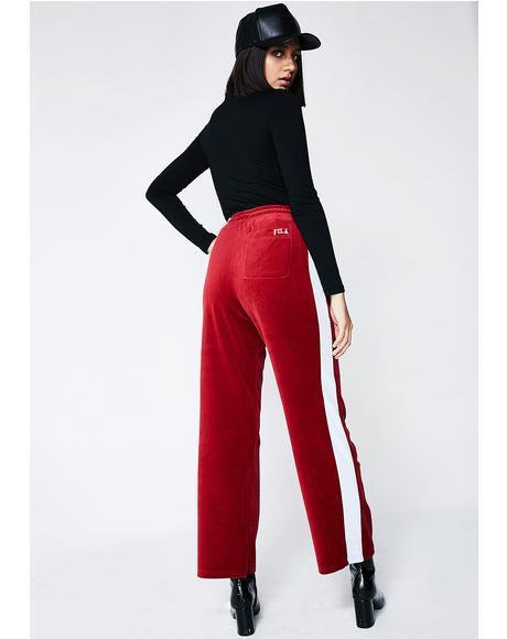 Bonnie Velour Pants