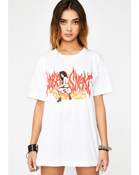 Tattoo Girl Graphic Tee