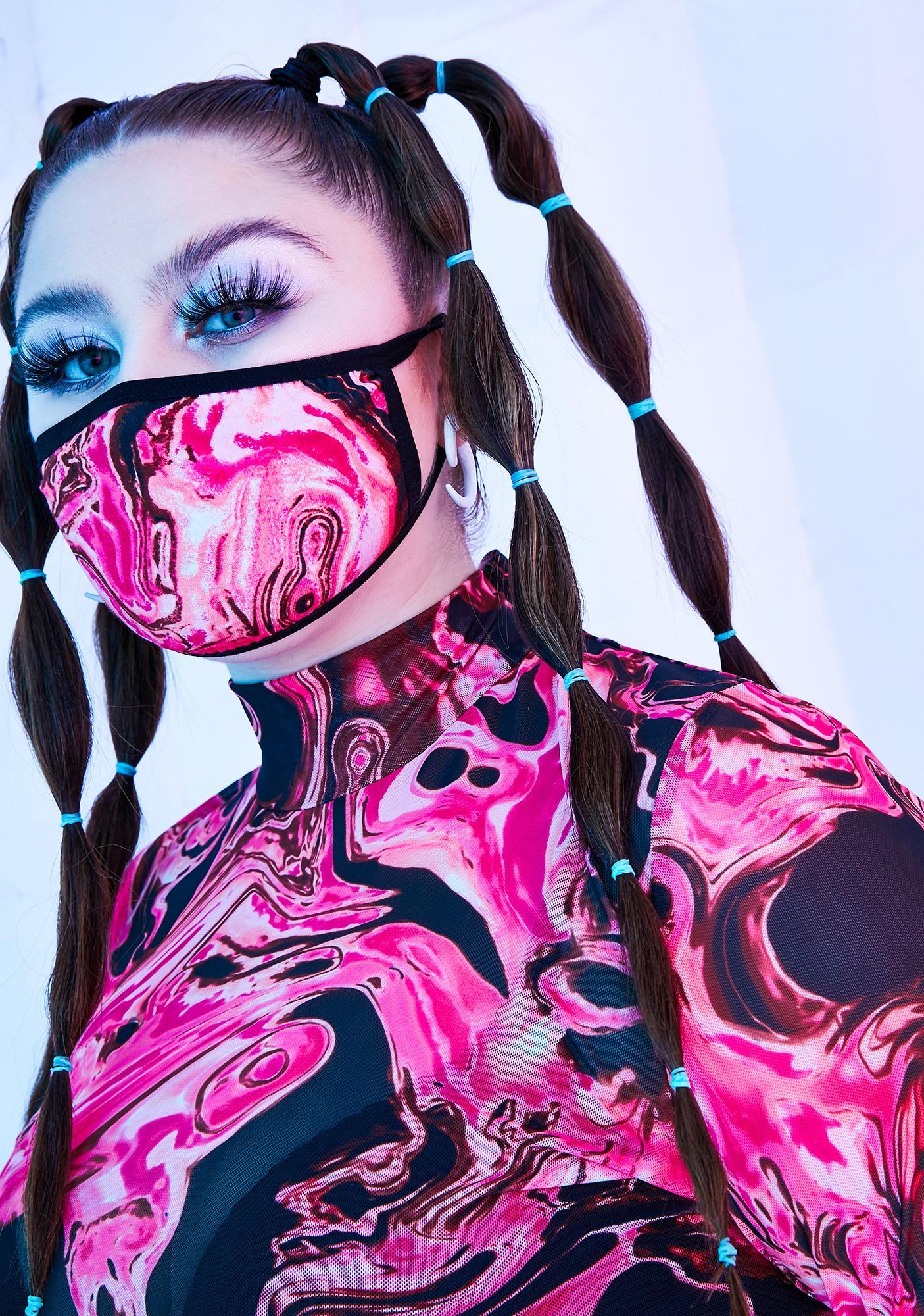 Club Exx Lady Acid Dimension Face Mask