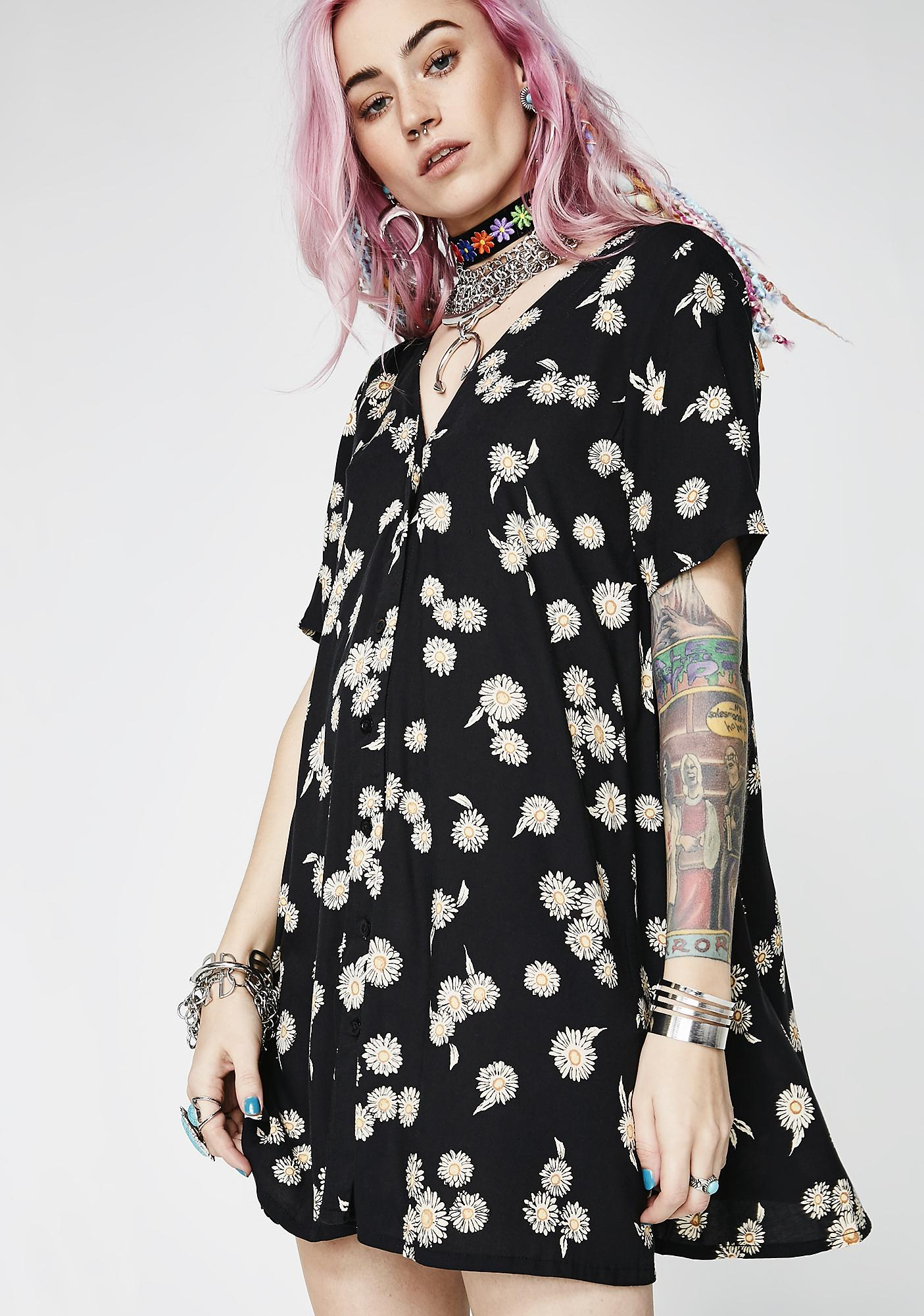 Motel Grunge Daisy Crosena Dress