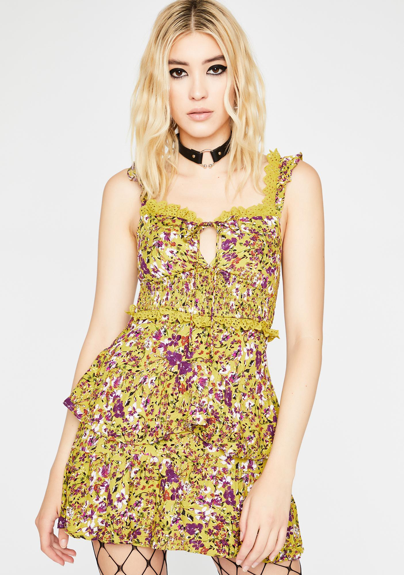 Kush Flirt Fiend Ruffle Dress