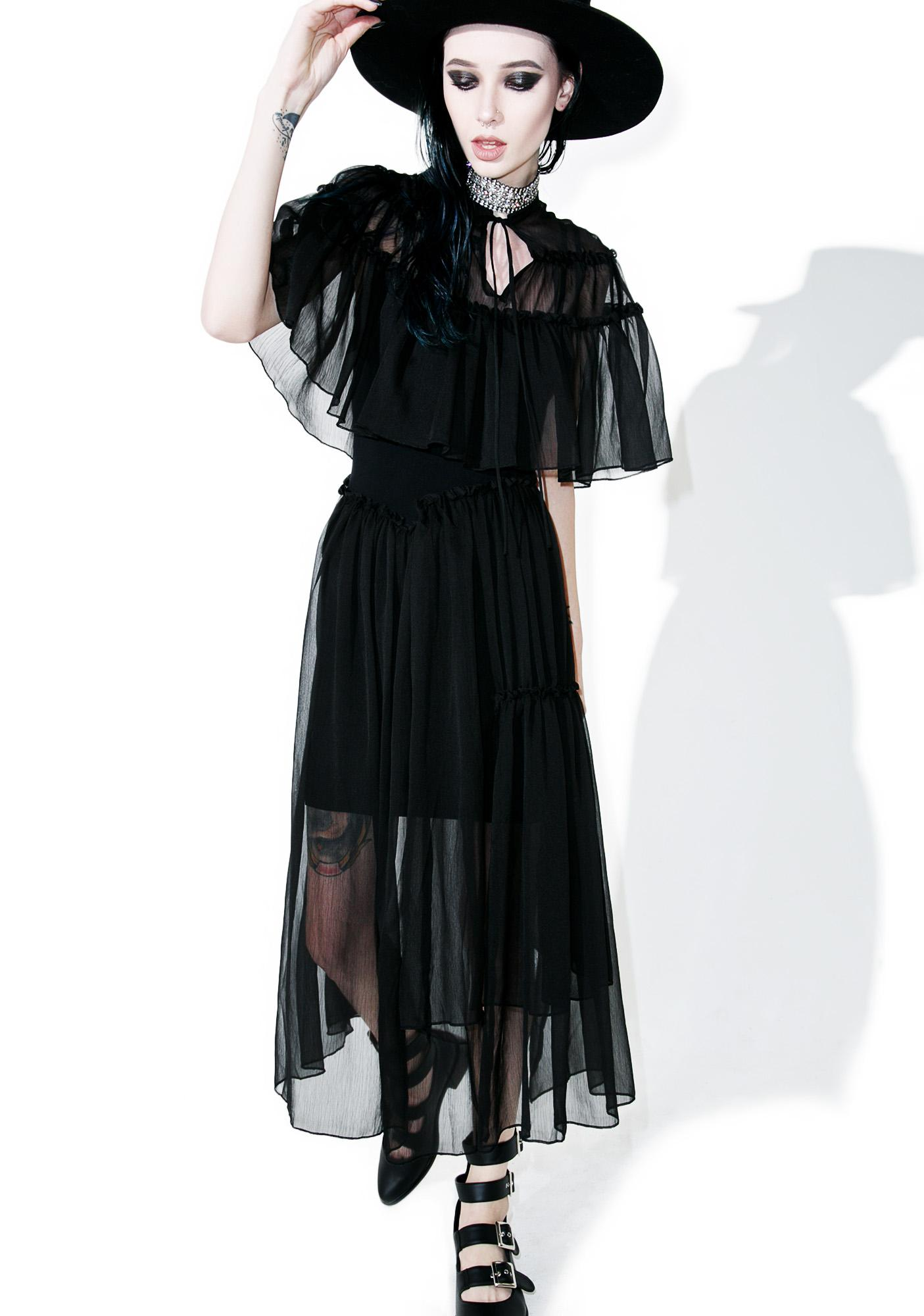 Punk Rave Danse Society Dress Set
