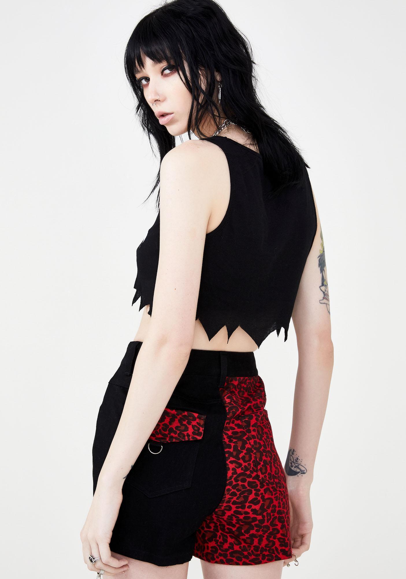 Disturbia Donita Denim Shorts