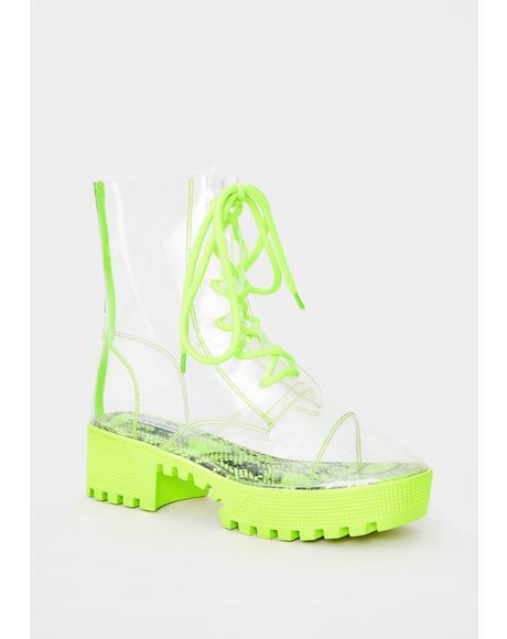 Supernova Shock PVC Boots
