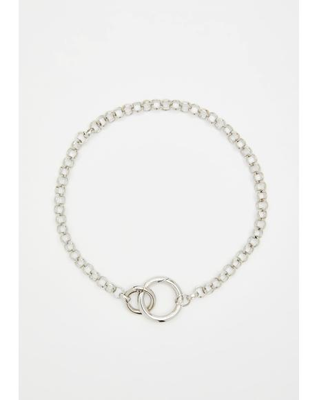 Coldhearted N' Cutthroat O-Ring Necklace