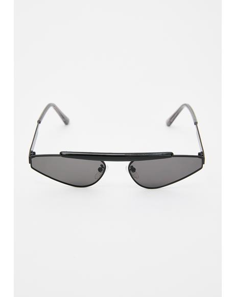 Shade Radar Triangle Sunglasses
