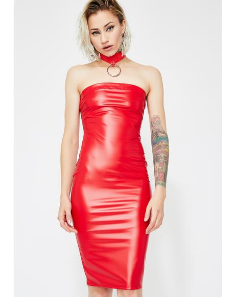 Hot Thirsty DM's Bodycon Dress