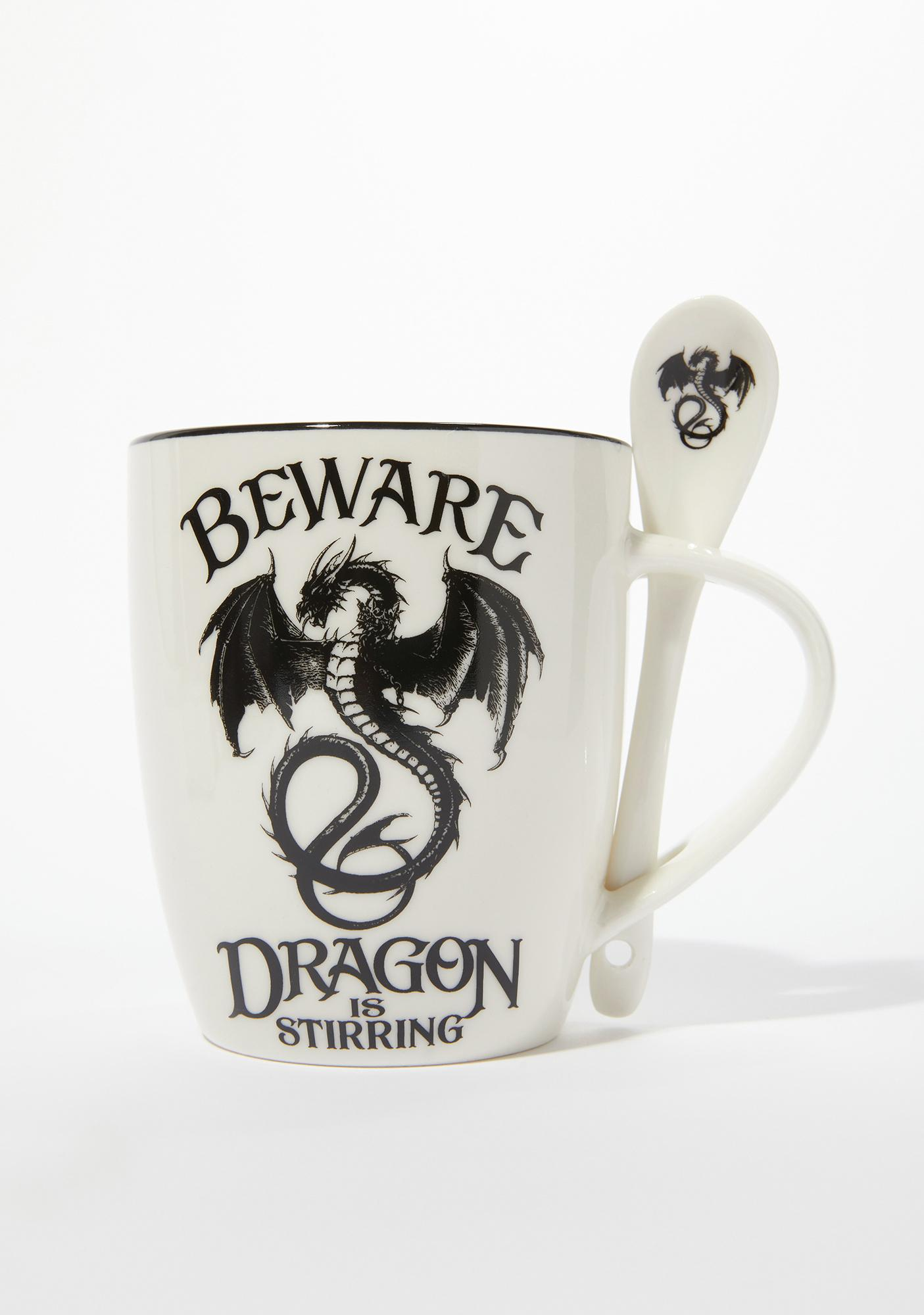Alchemy England Dragon Is Stirring Cup And Spoon