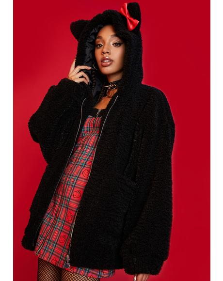 Keep It Cute Teddy Fur Jacket