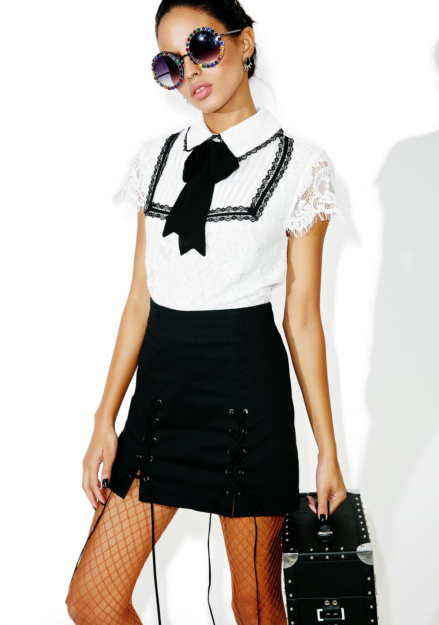 Miaou Lace Shirt
