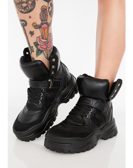 Street Sinner Platform Boots