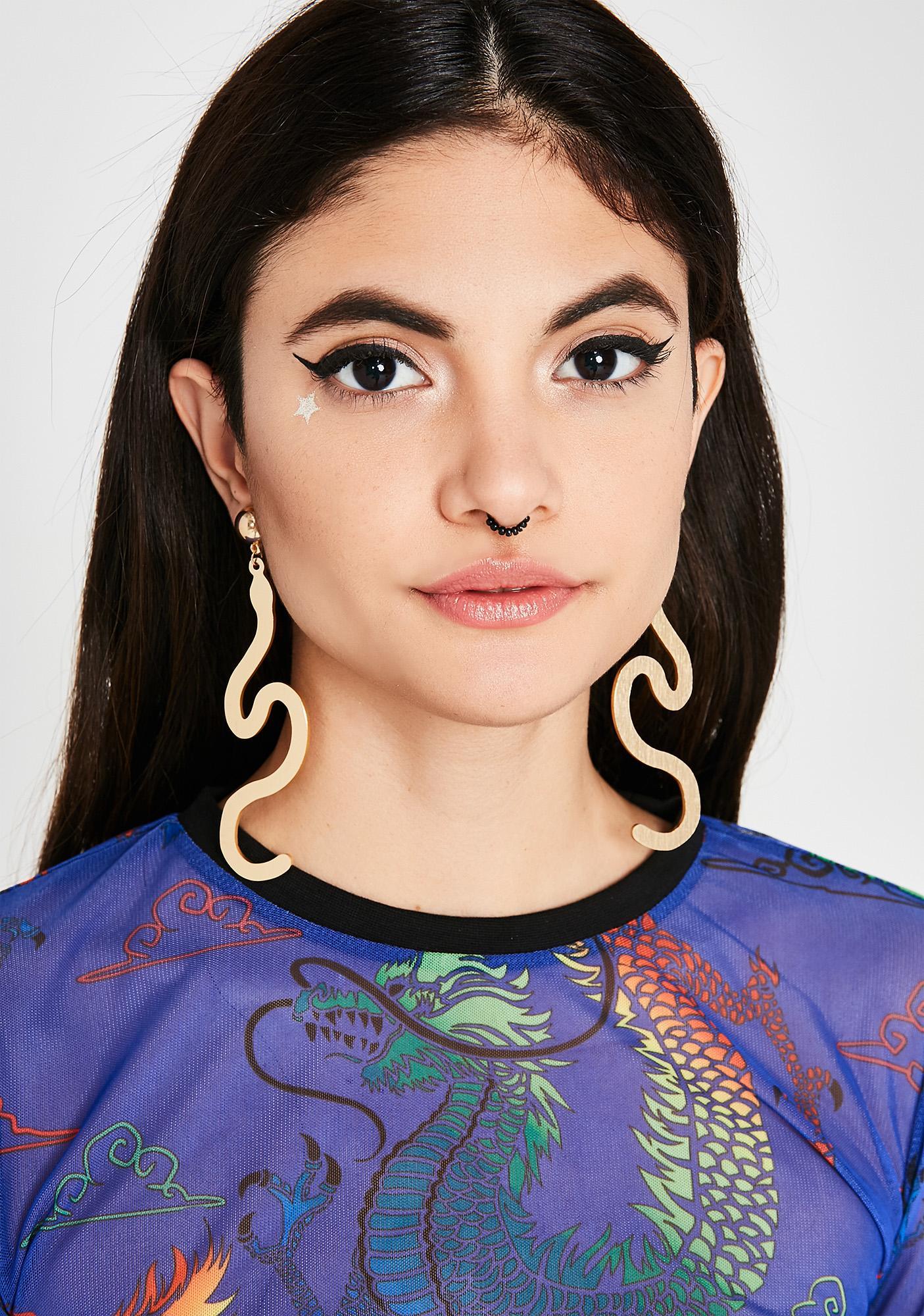 Fatal Bite Earrings