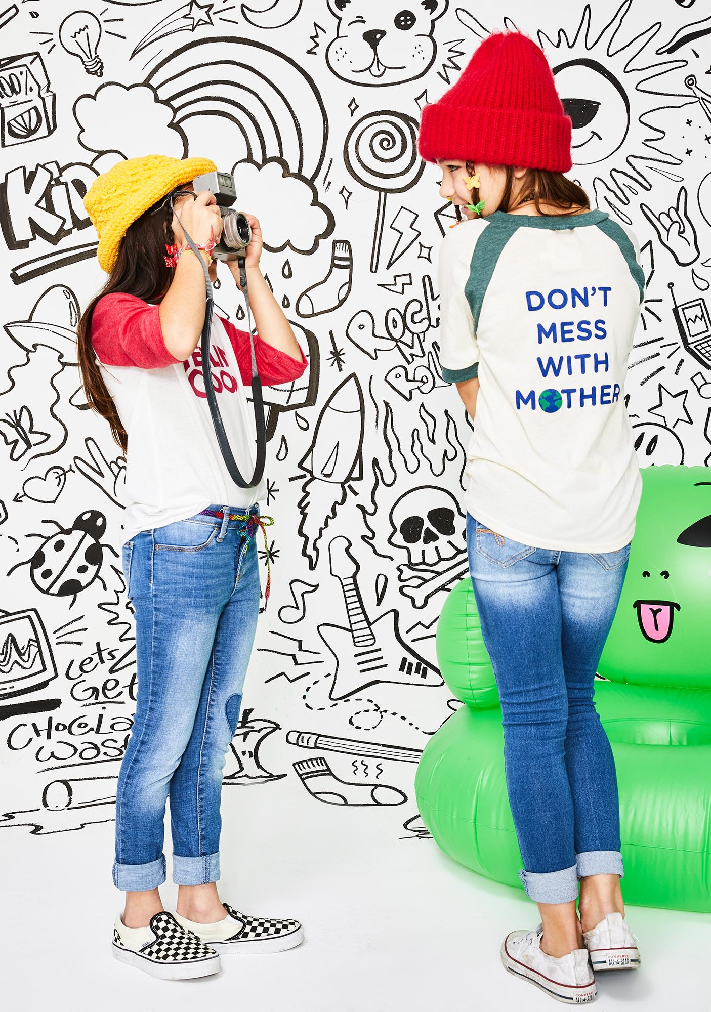 Camp Collection Kids Don't Mess With Mother Tee